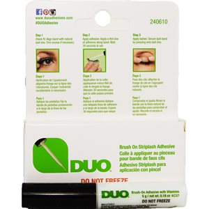 Clear eyelash Adhesive with Brush