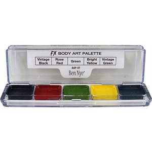 FX BODY ART Palette - 5 couleurs