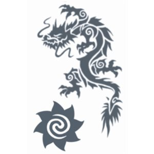 Dragon & Borneo Star